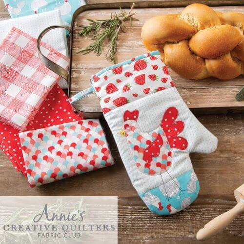 Annies Creative Quilters Fabric Club