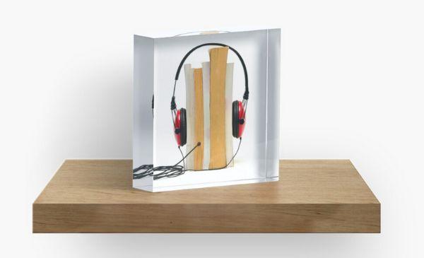 Audiobook Acrylic Block