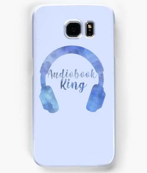 Audiobook King Phone Case