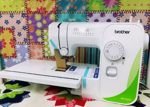 Brother Fb1757t Sewing Machine With Quilt Extension Table