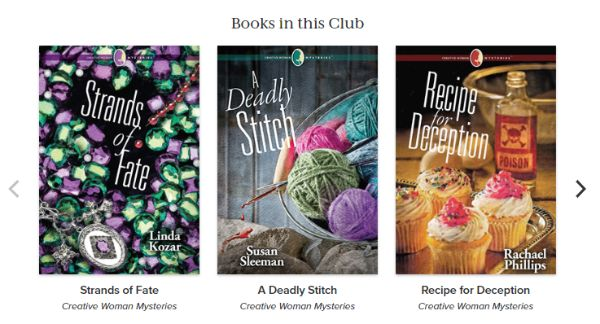 Creative Woman Mysteries Book Club 001