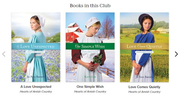 Hearts Of Amish Country Book Club