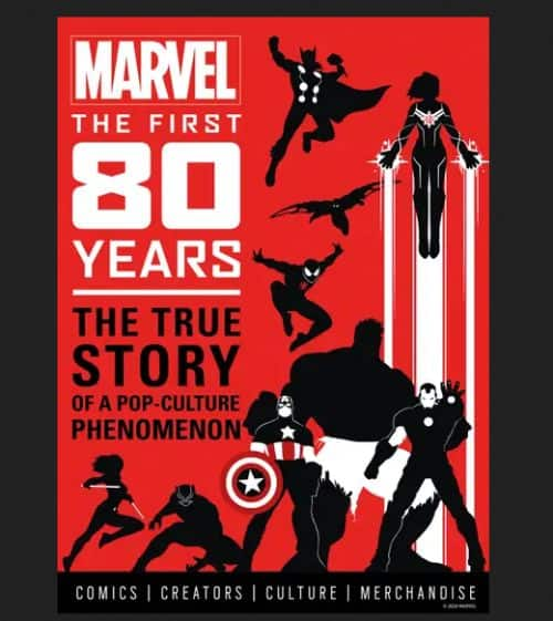 Marvel Comics The First 80 Years