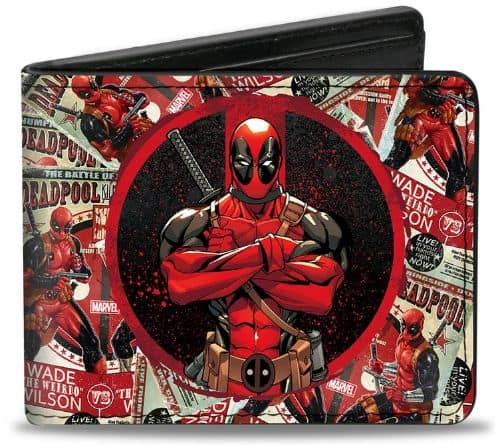 Marvel Now Bi Fold Wallet Deadpool