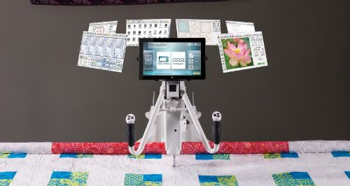 Quilt Motion Quilters Creative Touch 5 Quilting Robot