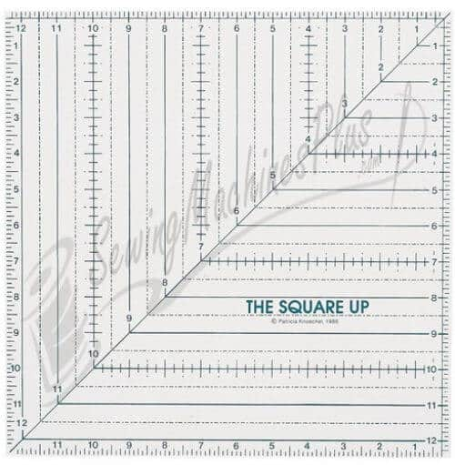 """Quilt In A Day 12.5"""" Square Up Ruler"""