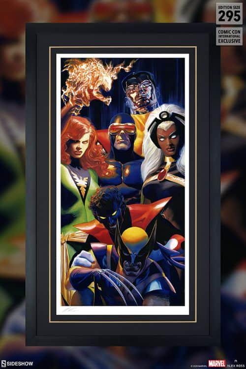 The X Men Art Print