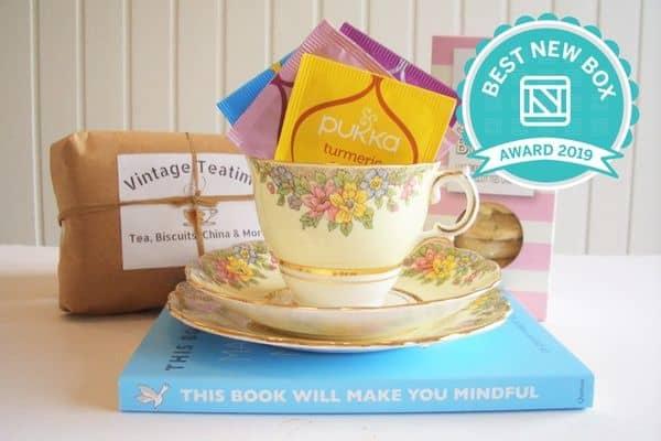 Vintage Teatime Eat, Drink, Read & Keep