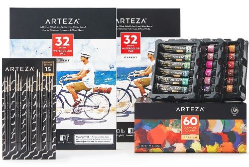 Arteza Gouache Painter's Bundle