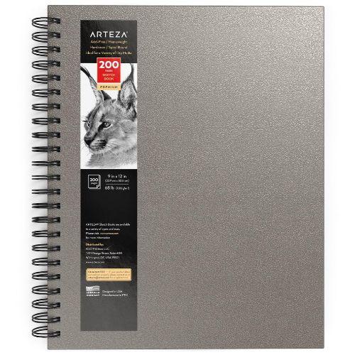 Arteza Spiral Bound Hardcover Sketchbook