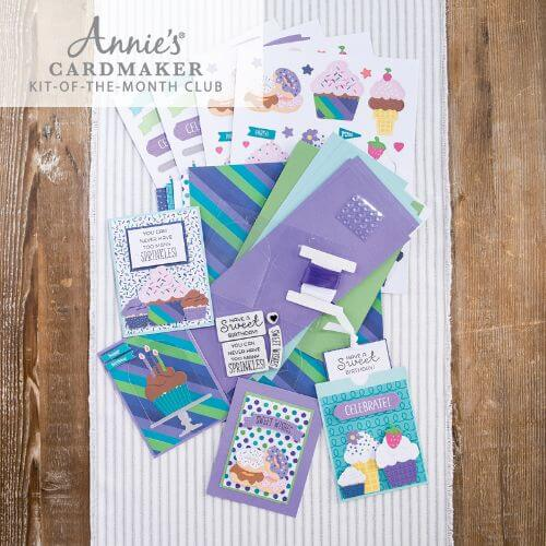 Annie's Cardmaker Kit Of The Month Club