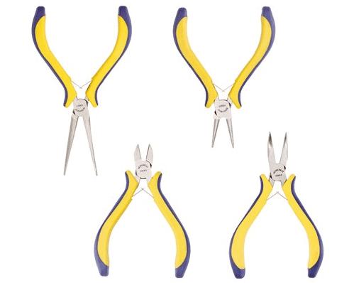 Benecreat 4 Piece Jewelry Pliers Set