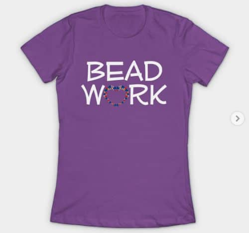Beadwork T Shirt