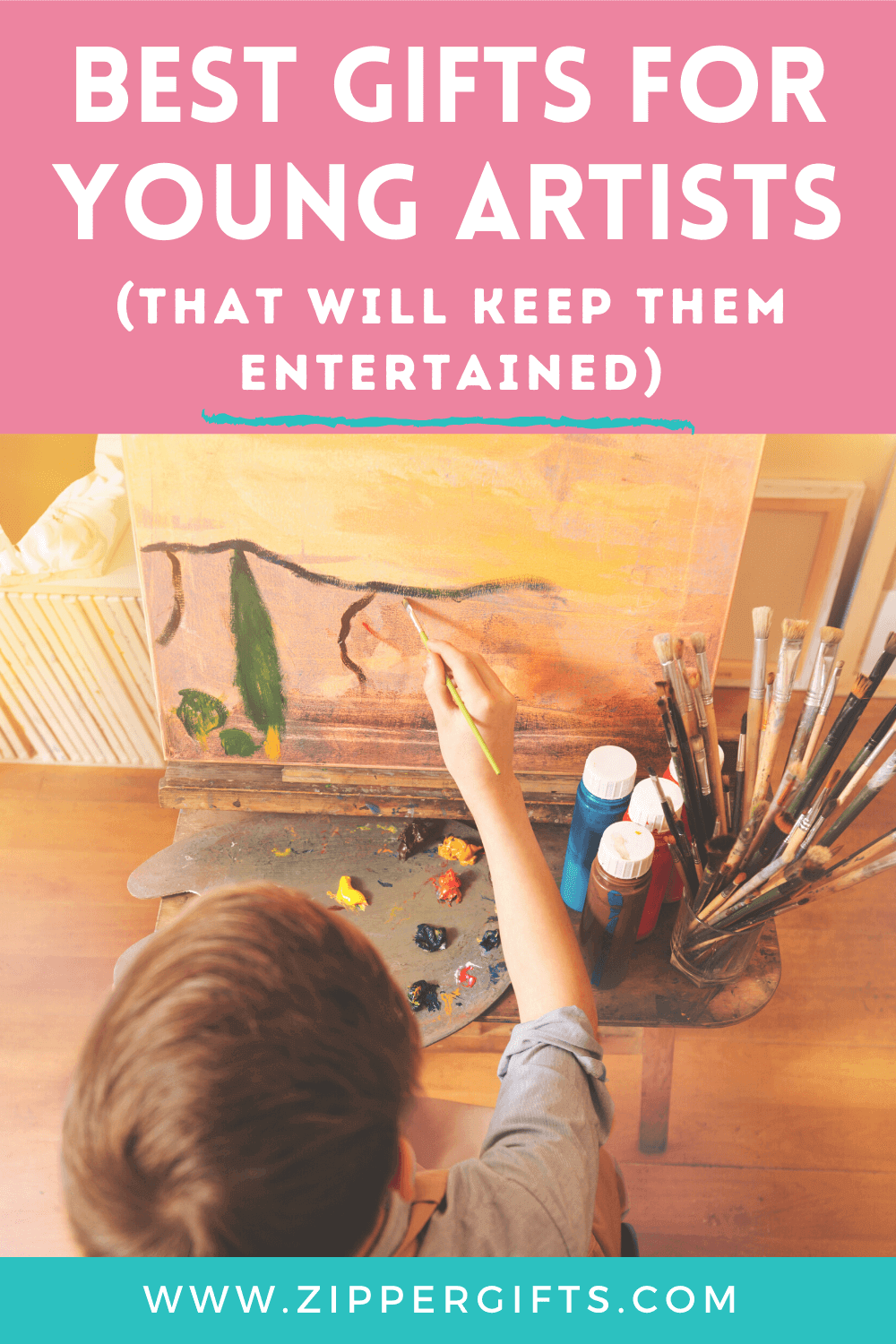 Best Gifts For Young Artists (that Will Keep Them Entertained)