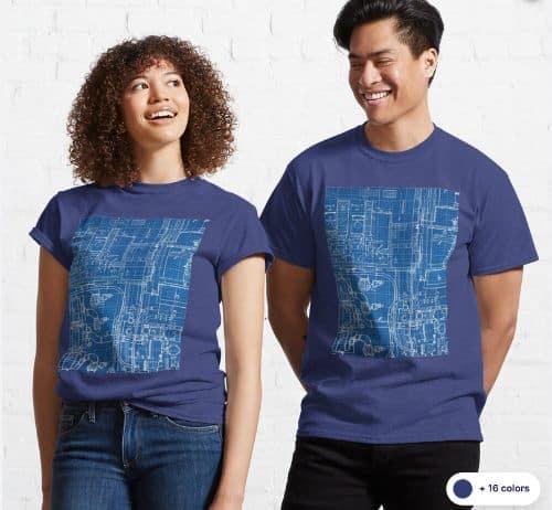 Blueprints T Shirt