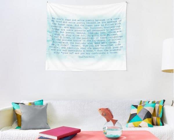 Dead Poets Society Tapestry
