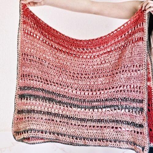 En Rose Lap Blanket Kit
