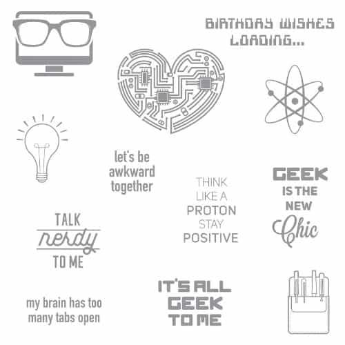 Geek Chic Stamp Set