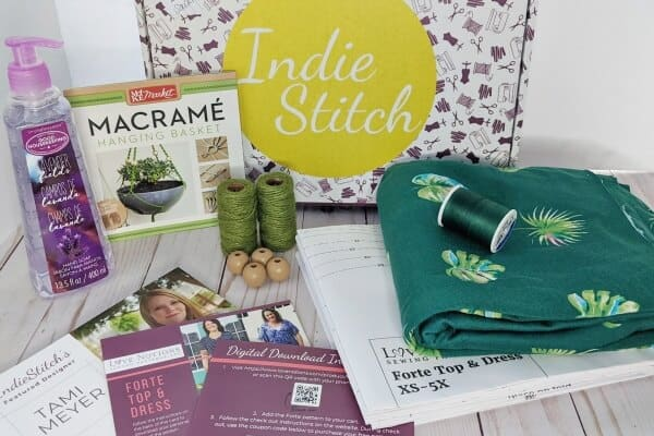 Indiestitch Subscription Box