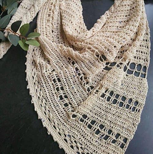 Lovelace Crochet Shawl Kit