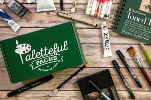 Paletteful Packs Subscription Box