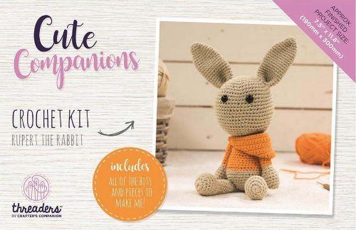 Threaders Cute Companions Crochet Kit Rupert The Rabbit