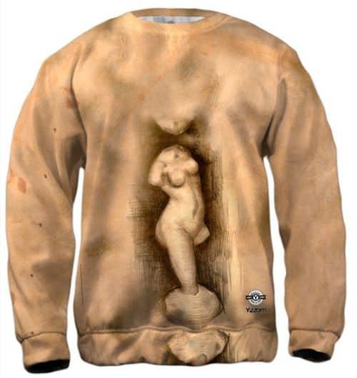 """Vincent Van Gogh """"realism Sketch"""" Men's Sweatshirt"""
