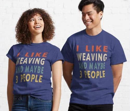 Weaving Lover T Shirt