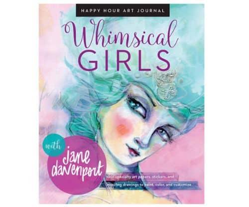 Whimsical Girls Book By Jane Davenport