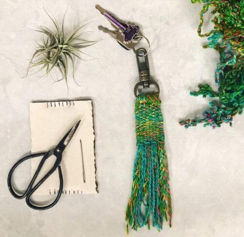 Woven Tassel Keychain Kit