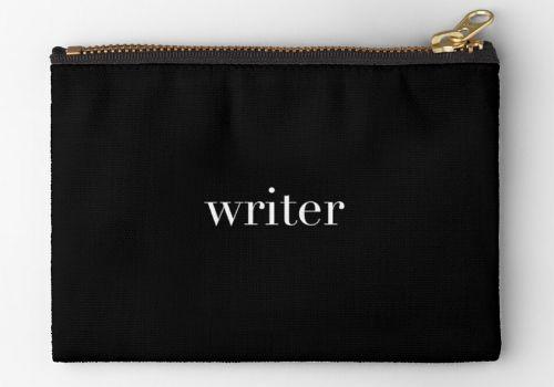 Writer Zipper Pouch