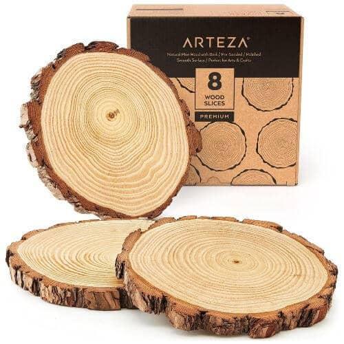 Arteza Large Wood Slices