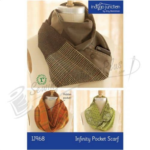 Indygo Junction Infinity Pocket Scarf