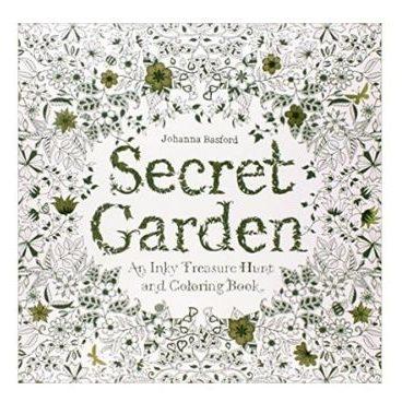 Secret Garden With 24 Watercolor Pencils 1