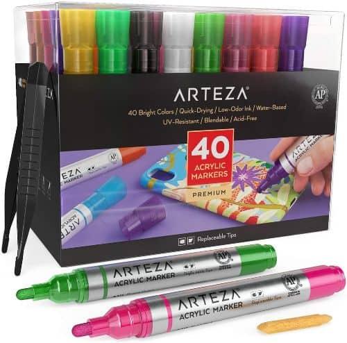 Arteza Acrylic Art Markers