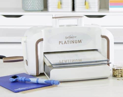 Platinum Die Cutting And Embossing Machine