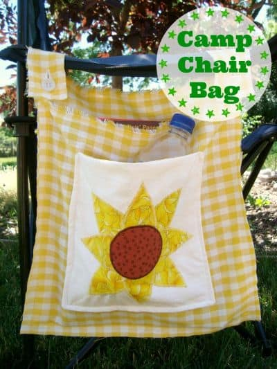 Camp Chair Tote Bag